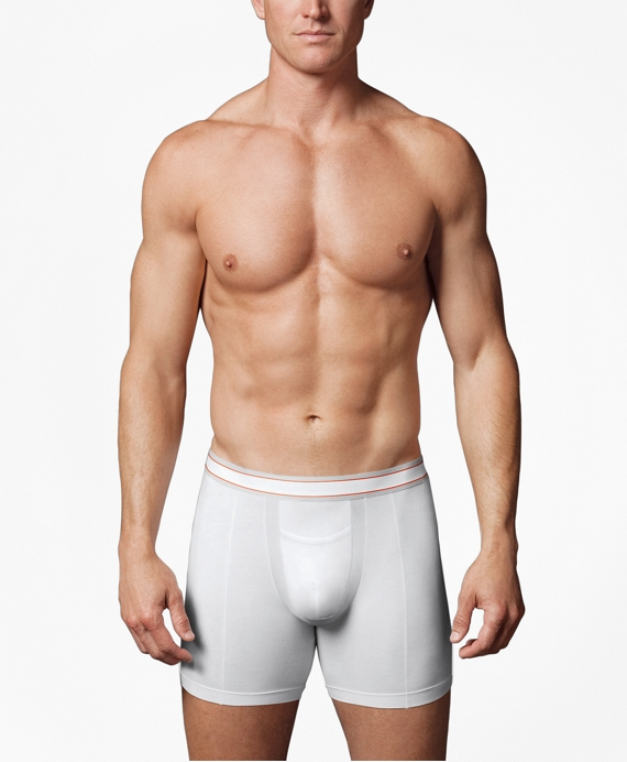 Spanx® Cotton Comfort Boxer Brief White