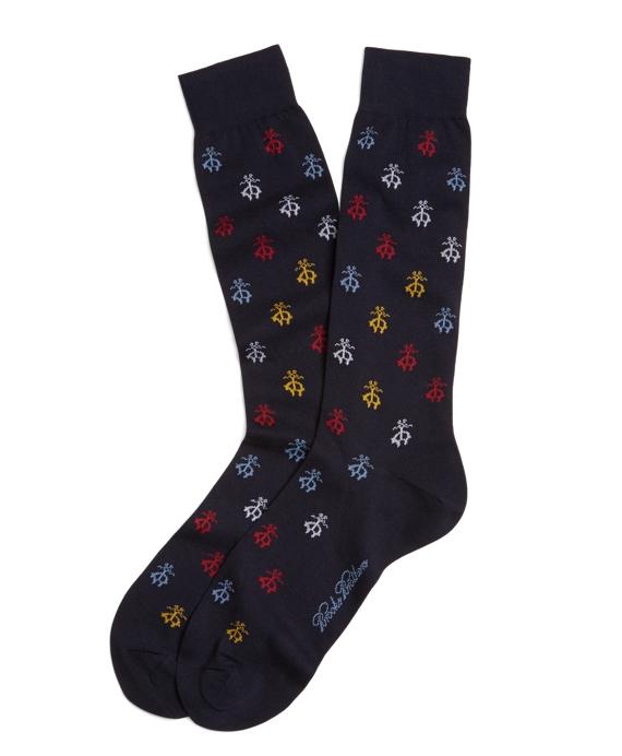 Golden Fleece® Crew Socks Navy