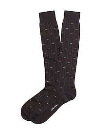 Mini Diamond Over-the-Calf Socks