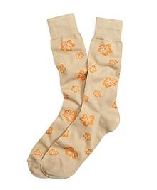 Hibiscus Crew Socks