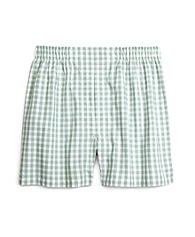 Slim Fit Framed Gingham Boxers