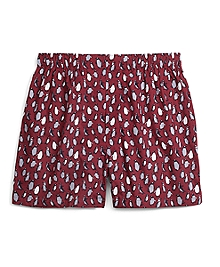 Traditional Fit Penguin Print Boxers