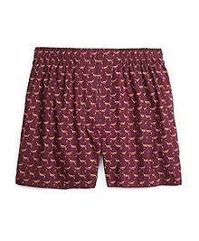 Slim Fit Dog Print Boxers