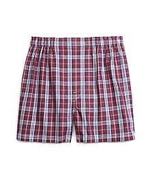 Slim Fit Blanket Plaid Boxers