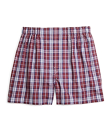 Traditional Fit Blanket Plaid Boxers