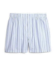 Slim Fit Alternating Hairline Bold Stripe Boxers