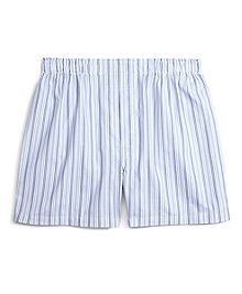 Traditional Fit Alternating Hairline Bold Stripe Boxers