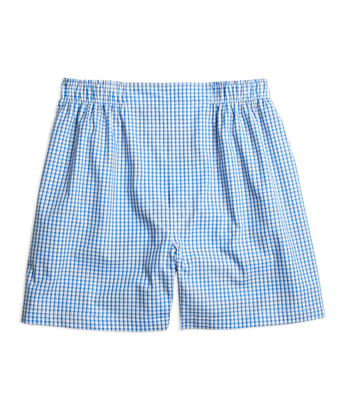 Traditional Fit Micro Check Boxers