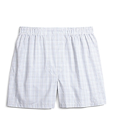 Traditional Fit Multi Tattersall Boxers