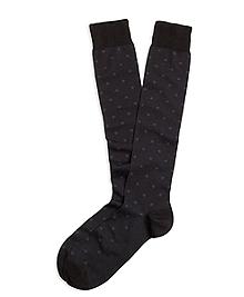 Small Medallion Over-the-Calf Socks