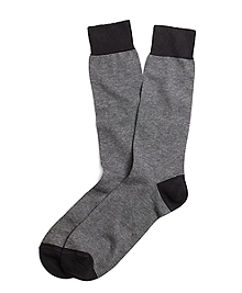 Micro Stripe Crew Socks