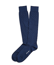Dot Over-the-Calf Socks