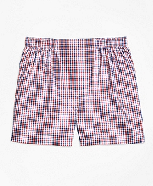 Slim Fit Micro Check Boxers