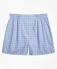 Traditional Fit Glen Check Boxers