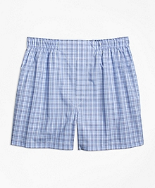 Slim Fit Glen Check Boxers