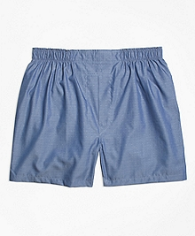 Traditional Fit Dobby Boxers