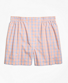 Slim Fit Alternating Check Boxers