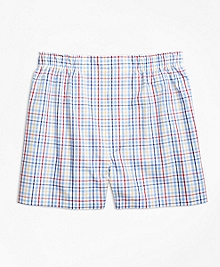 Slim Fit Multi Check Boxers