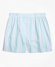Traditional Fit Alternating Bold Stripe Boxers
