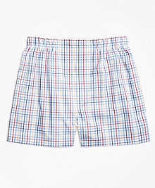 Traditional Fit Multi Check Boxers
