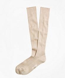 Ribbed Over-the-Calf Socks