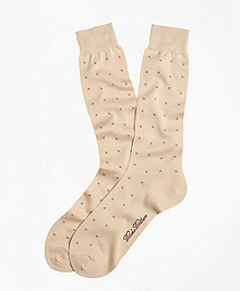 Three Bar Motif Crew Socks