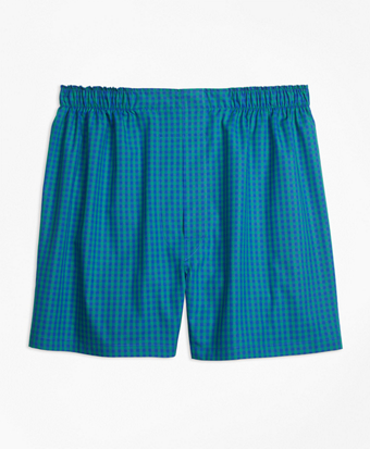 Traditional Fit Bold Gingham Boxers