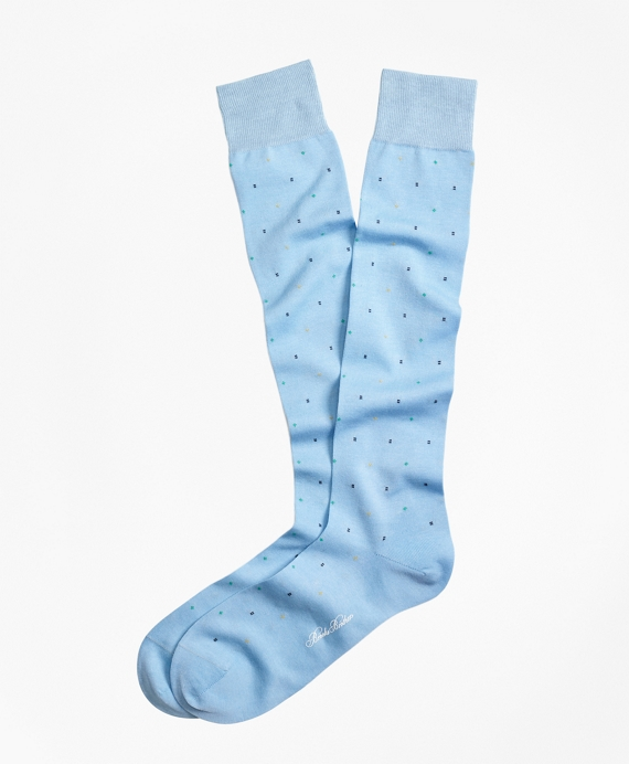 Bright Dot Over-the-Calf Socks