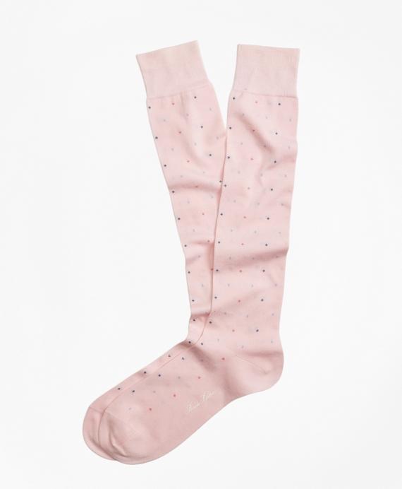 Bright Dot Over-the-Calf Socks