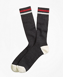 Kennedy Stripe Crew Socks
