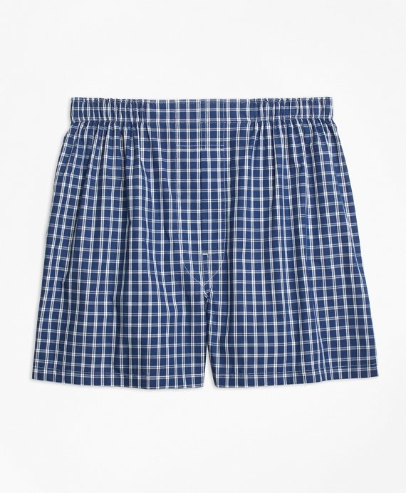 Traditional Fit Graph Check Boxers
