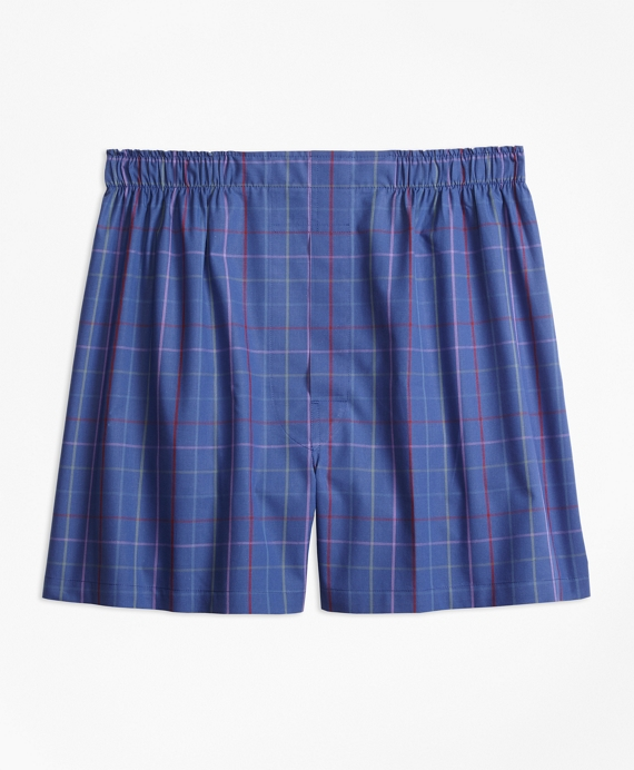 Traditional Fit Alternating Tattersall Boxers