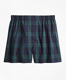 Traditional Fit Black Watch Boxers