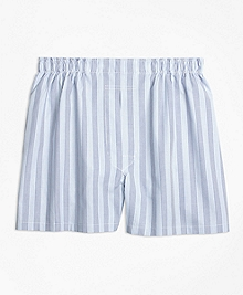 Traditional Fit Hairline Alternating Stripe Boxers