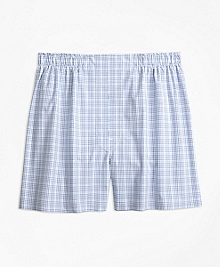 Traditional Fit Tonal Check Boxers