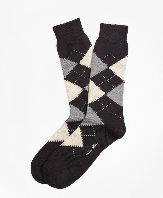 Cotton Argyle Crew Socks