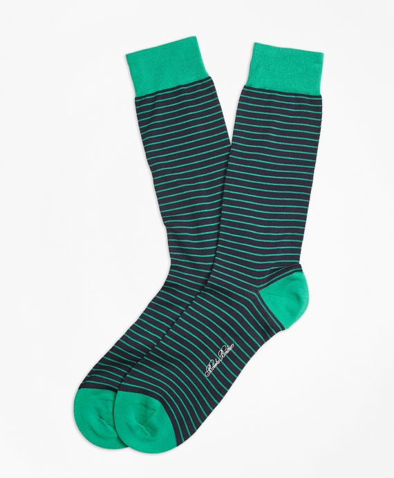Bright Stripe Crew Socks