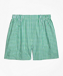 Traditional Fit Framed Gingham Boxers