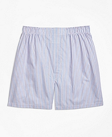 Traditional Fit Triple Stripe Boxers