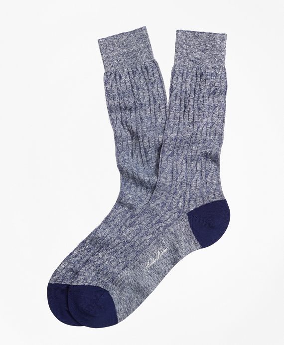 Marled Cable Crew Socks