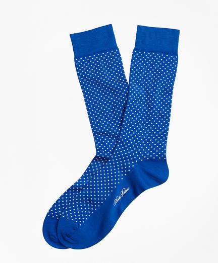 Bright Dot Crew Socks