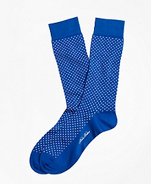 Bright Dot Crew Socks