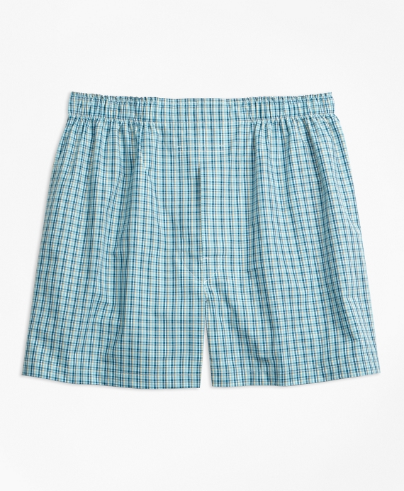 Traditional Fit Mini Multi-Check Boxers