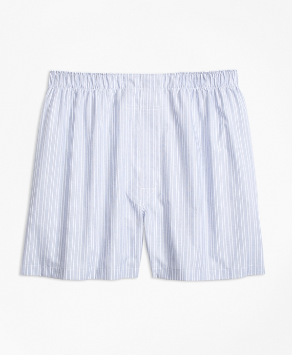 Traditional Fit Ground Double Stripe Boxers