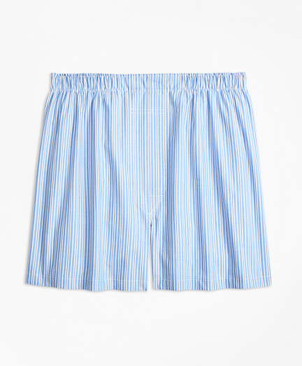 Traditional Fit Split Stripe Boxers