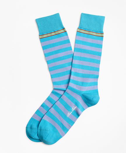 Rugby Stripe Crew Socks