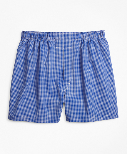 Traditional Fit Ground Check Boxers