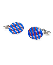 Single Stripe Cuff Links