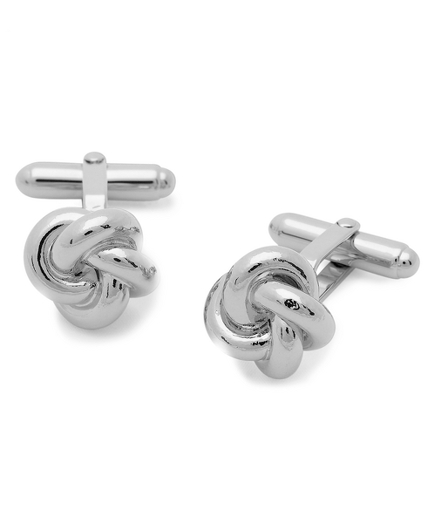 Oversized Love Knot Cuff Links