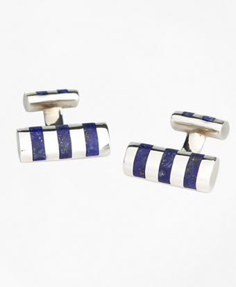 Bar Stripe Cuff Links